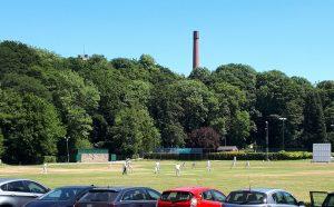 Cricket At Bollington, 30/6/18