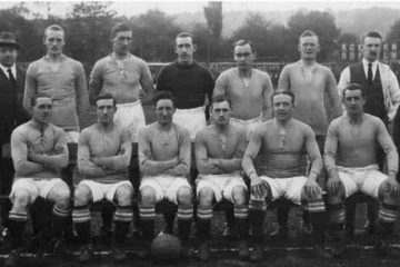 Nelson's 1923/23 Division Three North Winning Team