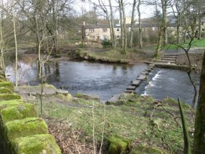 Stepping Stones At Uppermill, Saddleworth