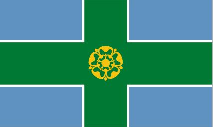 Flag Of Derbyshire
