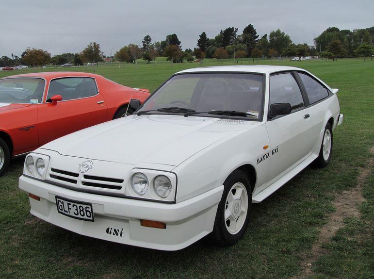 1987 Manta GTE