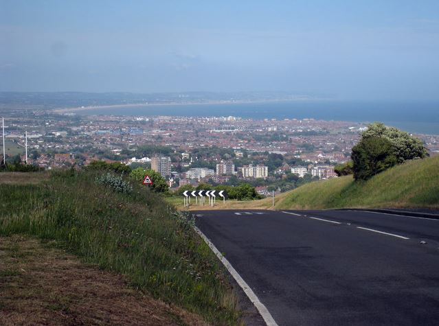 Eastbourne, View From East Dean Road