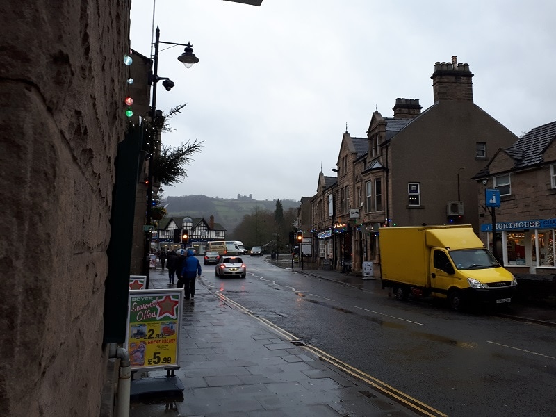 Bakewell Road In Matlock, 18/12/18