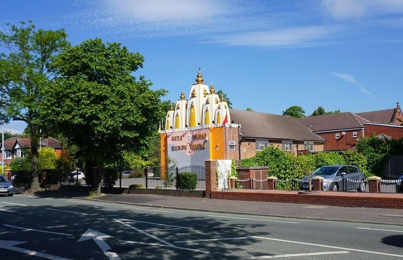 Gita Bhavan Hindu Temple, Whalley Range