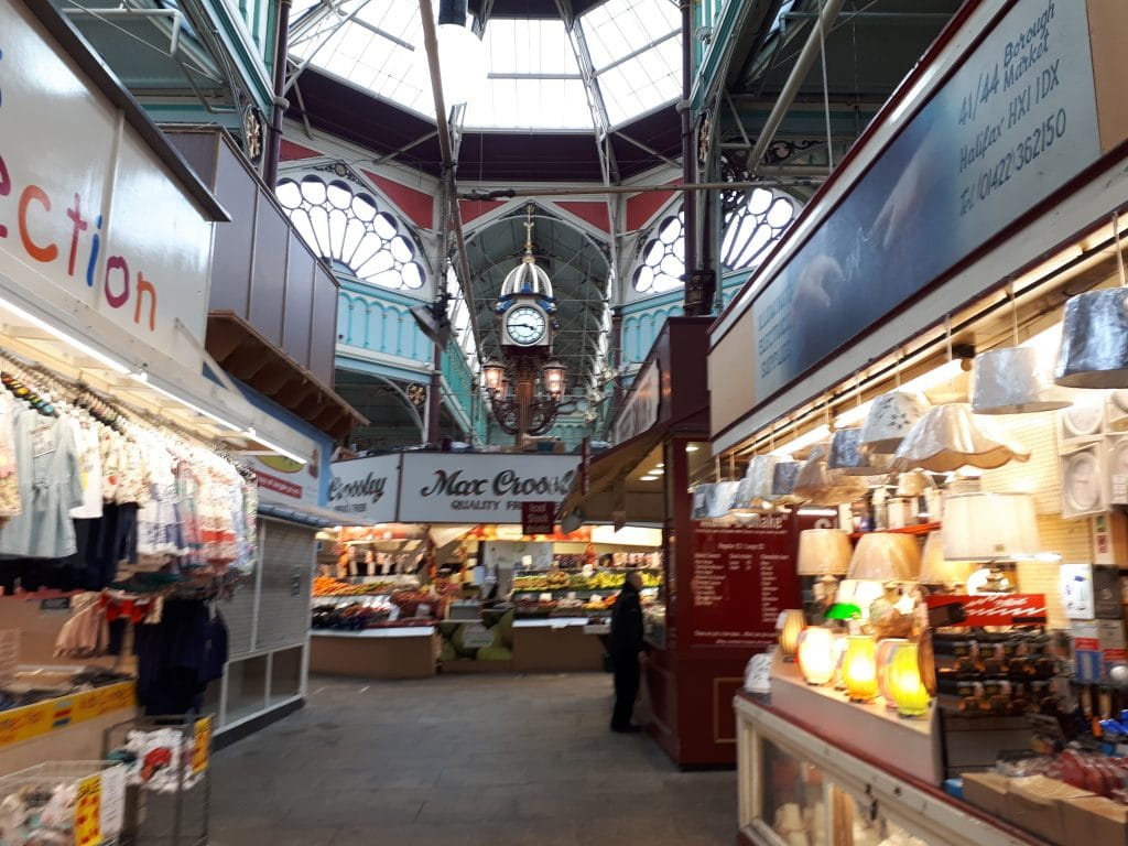 Halifax Borough Market. A really lovely indoor market, so there. 3/2/19.
