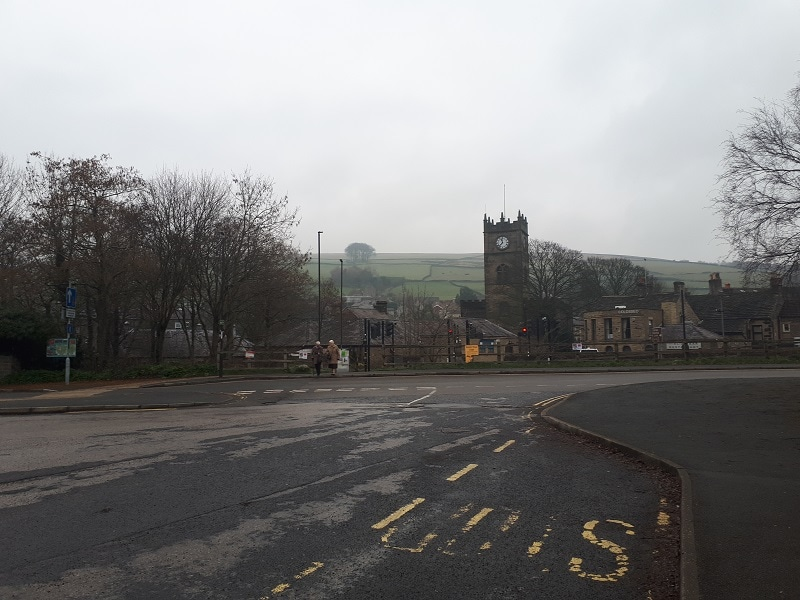 Hayfield Bus Station, March 1st 2019