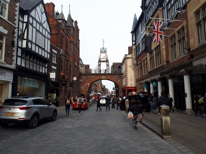 That picture of Chester city centre again!
