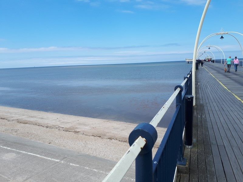Southport Pier on a sunny day. 19/5/19.