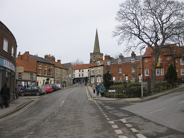 Pickering. Another lovely part of North Yorkshire. Image courtesy of geograph.org.uk