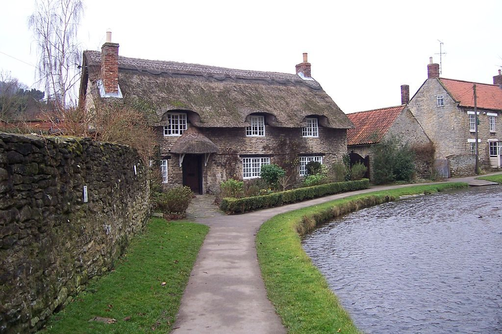 Thornton-le-Dale, it's a bit nice. Image from Wikipedia.org.