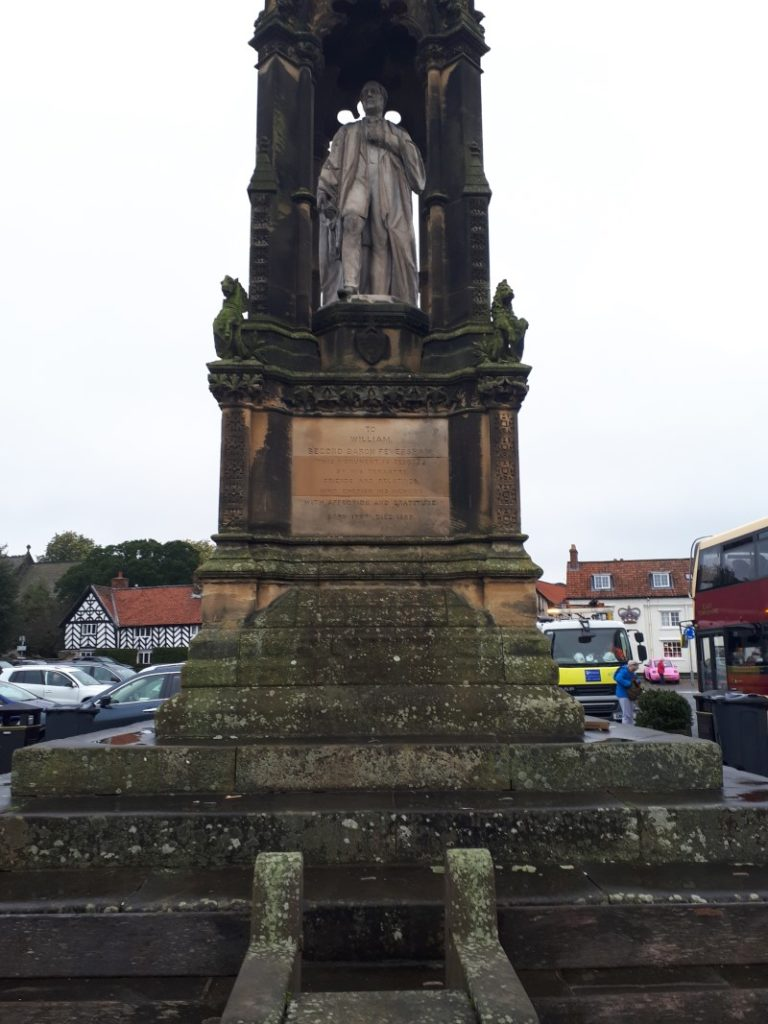 William Duncombe, 2nd Baron Feversham Statue in Helmsley, 16/10/19.