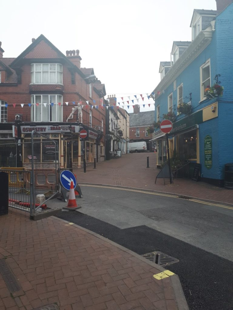 Oswestry Town Centre, just before it all went a bit weird. 29/6/19
