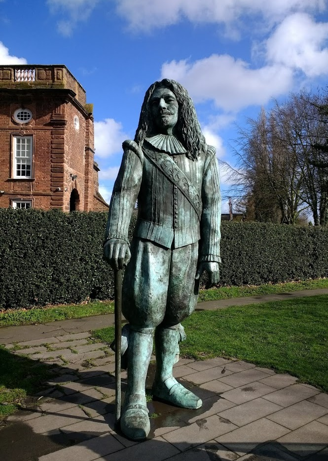 John Middleton, Childe of Hale. All 9 foot 3 inches of him. Image from Wikipedia.