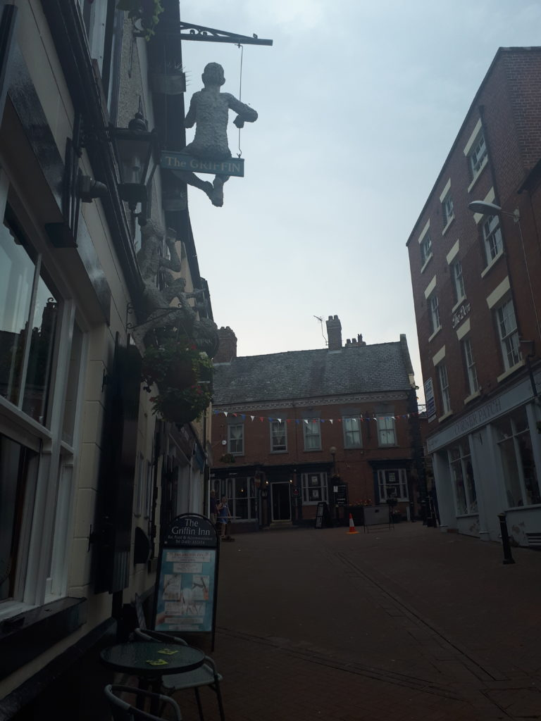 Albion Hill in Oswestry. Just before things got really weird. 29/6/19.