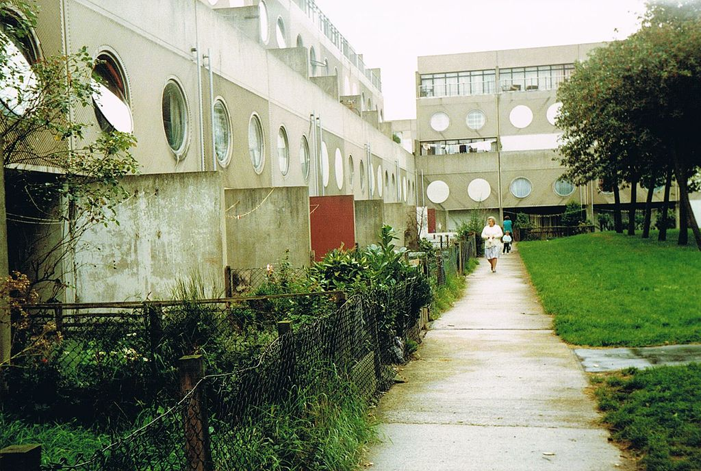 Runcorn's Southgate Estate in 1989. Pic from Wikipedia.
