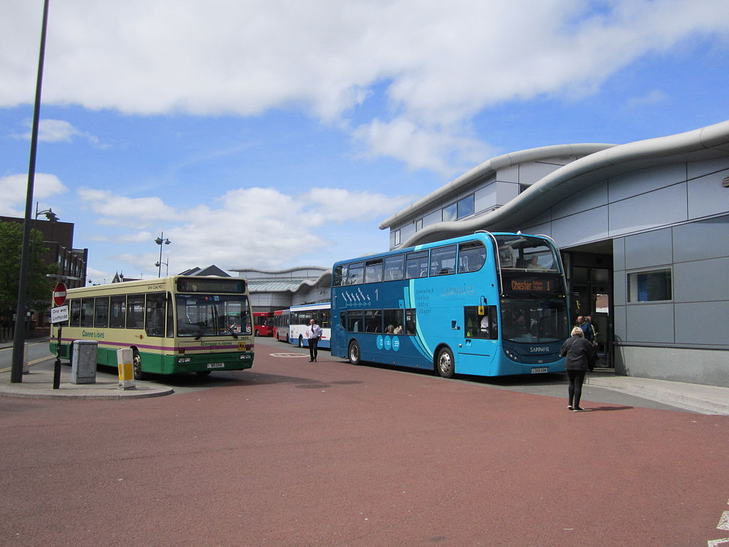 Wrexham Bus Station. Hat tip to Wikipedia.
