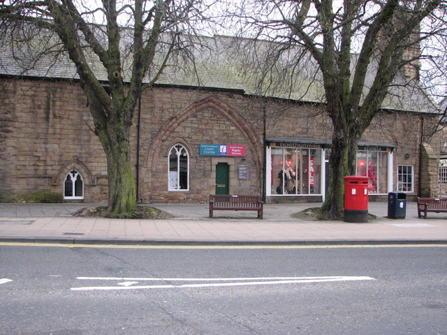 Morpeth Bagpipes Museum. Credit to Willie Duffin on Geograph.co.uk for the image.