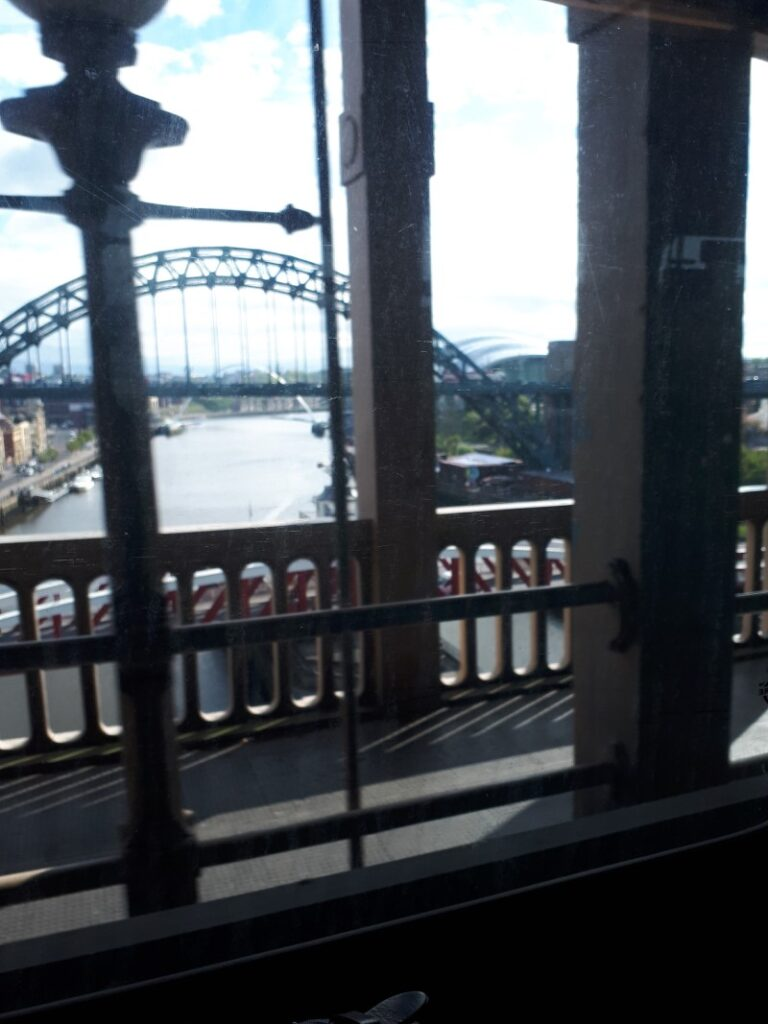 Rubbish picture of the Tyne Bridge from the X12 bus. 2/5/20
